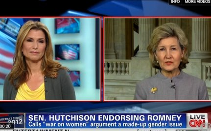 Hutchison: Women Will Love Romney! [VIDEO]