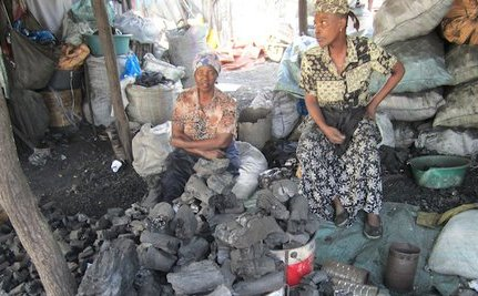 How Deadly Charcoal is Bought and Sold in an African Market