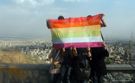 Iranian LGBT Activists Protest in Tehran (Slideshow)
