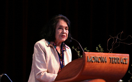 Dolores Huerta Honored As Fight For Farm Worker Rights Pushes On