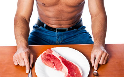Meat Eaters Are Macho; Vegetarians Are Wimpy