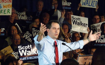 Walker Endorsed By Milwaukee Journal Sentinel