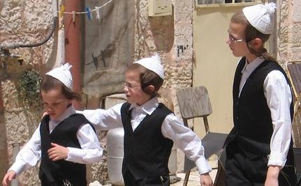 Orthodox Jewish Organizers Gather to Protest the Internet
