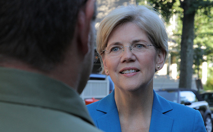 Warren and Brown Once Again Neck And Neck