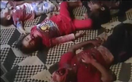 32 Children Massacred in Syria, UN Confirms (Videos)