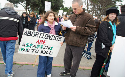 US Style Abortion Protests Raise Intimidation Concerns