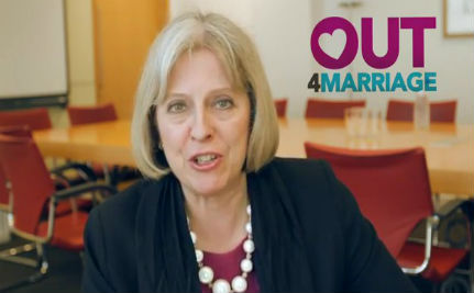 British Home Secretary Records Pro-Gay Marriage Video