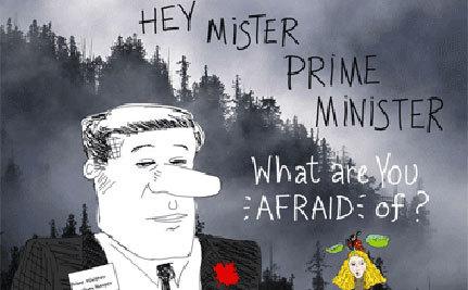 What Is Harper Afraid Of? Asks Franke James