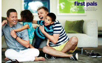 Gay Dads in JC Penney's June Catalog