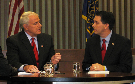 On Eve of Recall, Barrett Closing on Walker in Wisconsin