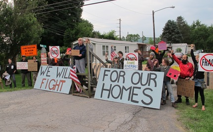 Poor Being Fracked in Pennsylvania (Video)