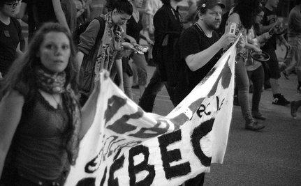 Quebec Student Protestors Target Montreal Grand Prix
