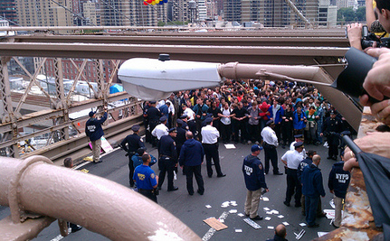 Judge: OWS Protesters Wrongfully Arrested On Brooklyn Bridge