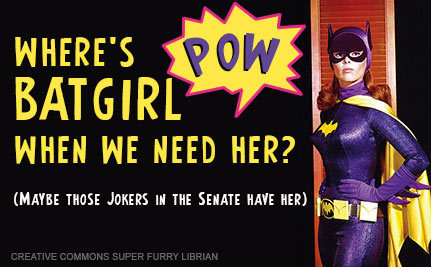 Batgirl Gives Ultimatum for Equal Pay (Video)