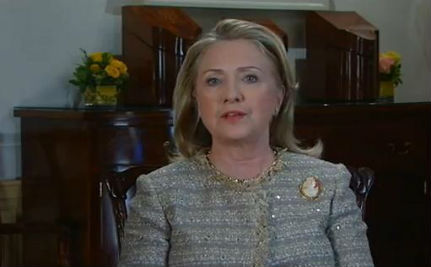 Secretary of State Hillary Clinton Celebrates Pride Month (VIDEO)