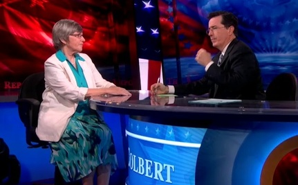 Radical Feminist Nun on Colbert Report