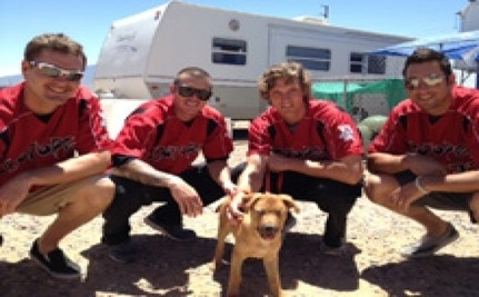 Incredible Blind Puppy Is Adopted By Baseball Team