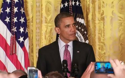 President Obama's Speech at Pride Reception (VIDEO)