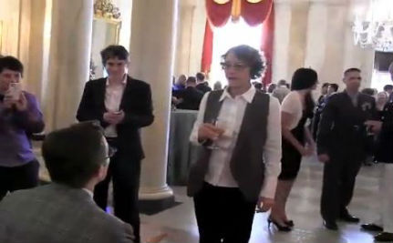 Trans Man Proposes to Girlfriend at White House Pride Reception