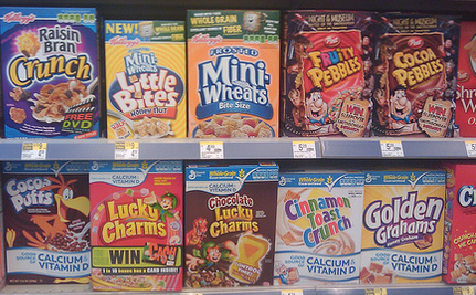 Advertising the Worst Cereals to Kids