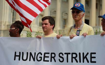 Postal Workers Start Third Day of Hunger Strike to Save USPS