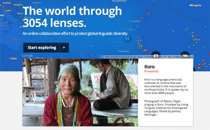 Google Site Helping Save Endangered Languages