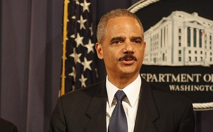 Justice Department Won't Prosecute Holder