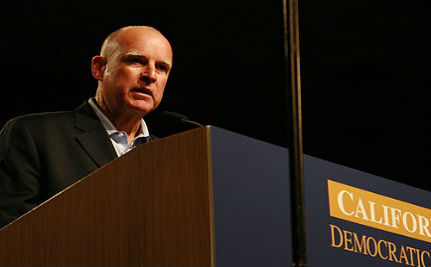 Gov Jerry Brown Encourages Scots in Gay Marriage Push