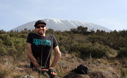 Spencer West Climbs Kilimanjaro – with No Legs