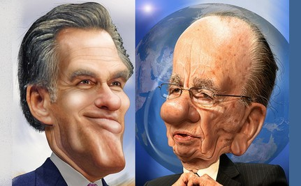 Mitt Assures Murdoch He Won't Flip-Flop on Immigration