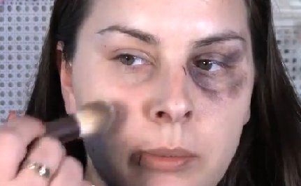 Domestic Violence PSA Teaches Women to Cover-Up Abuse with Make-up (Video)