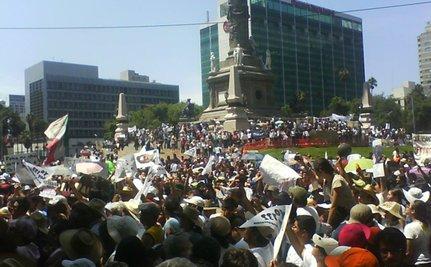 Mexicans Protest PRI Victory