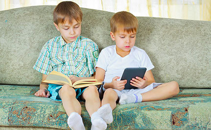 Kids Reading Too Much? Blame the E-Reader