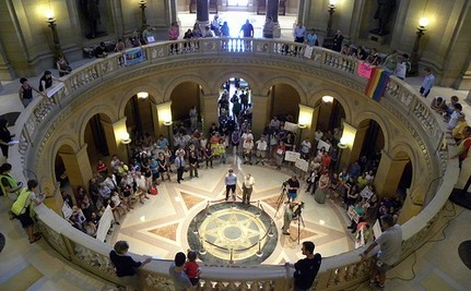 Minnesota Same-Sex Marriage Foes File Suit