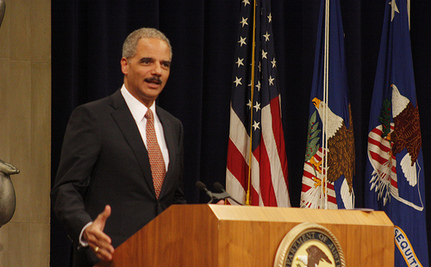 Holder And NAACP Tee Up Voter ID Issue For Romney Appearance