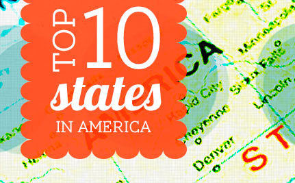 The Top 10 Best States to Live In