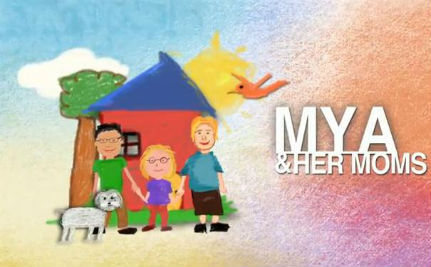 Meet Mya And Her Moms (VIDEO)