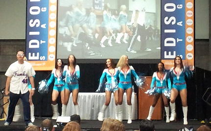 Science Cheerleaders: Give Us an S, T, E, M! (Video)