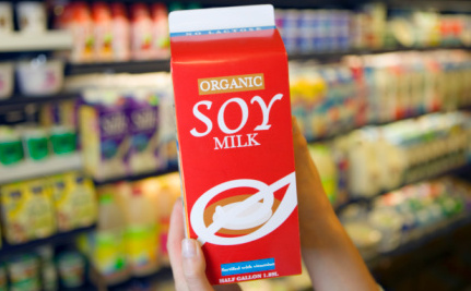 Non-Dairy Milk Additive Could Make You Sick