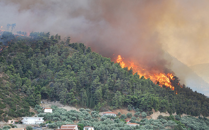 Euro Zone Crisis: Wildfires in Greece