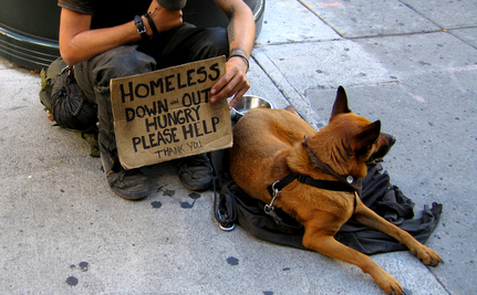 What to Do When You Encounter Homeless People With Pets