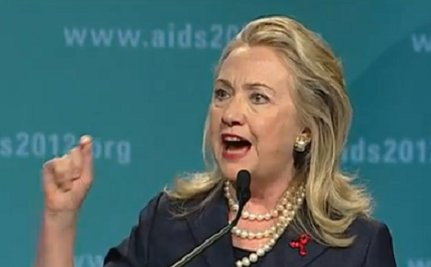"""Clinton Pledges New U.S. Funds for """"AIDS Free Generation"""""""