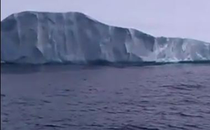 46 Square Miles Of Iceberg Break Off In Greenland (Video)