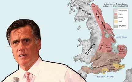 Romney Attacked Over Adviser's 'Anglo-Saxon' Gaffe