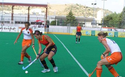 "Olympic Team Called ""Field Hockey Minxes"""