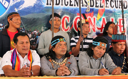Court Favors Indigenous Community in Decade-Long Struggle Against Oil-Drilling in Ecuador