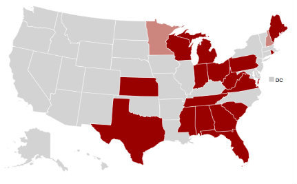 Interactive Map: Voter Suppression by State