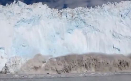 Greenland Iceberg Tsunami! (Dramatic Video)