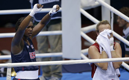 Spoiler Alert! 17-Year-Old Claressa Shields Boxes Her Way To Olympic Gold