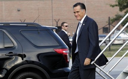 Romney Visits Iowa 'Farmer' Who Is Also A Millionaire Real Estate Mogul With A Spaceship House